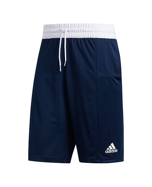 3 stripes adidas shorts