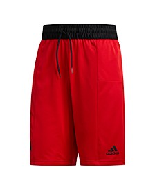 Men's Climalite 3 Stripe Basketball Shorts