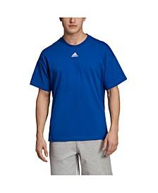 Men's Back Shoulder 3-Stripe Regular Fit T-Shirt