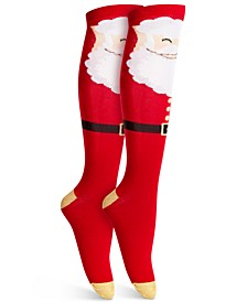 Santa Knee-High Socks, Created For Macy's