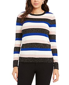 Striped Crewneck Sweater, Created for Macy's