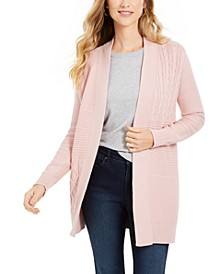 Patchwork Cardigan, Created For Macy's