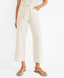 Mango Belt Line Trousers
