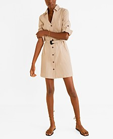 Mango Short Shirt Dress