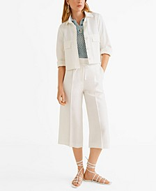 Bow Straight Trousers