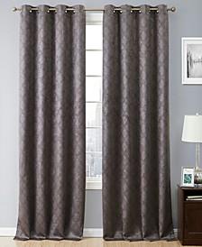 Obscura Busselton Lattice Blackout Grommet Curtain Panels - 54 W x 63 L - Set of 2