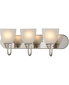 Mari 3-Light Bath or Vanity Light Bar or Wall Mount