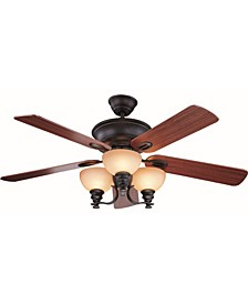 Marti 3-Light Antique Bronze Ceiling Fan