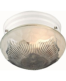 1-Light Mini Flush Mount Ceiling Fixture