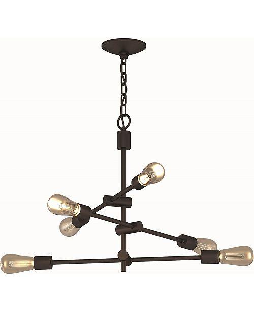 Volume Lighting Lis 6-Light Hanging Chandelier