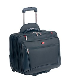 Biztech Collection Wheeled Laptop/ Tablet Briefcase