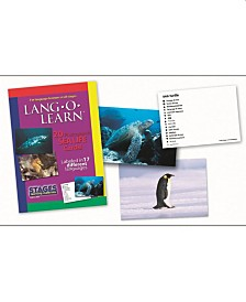 Stages Learning Materials Lang-O-Learn ESL Sea Life Vocabulary Cards Flashcards