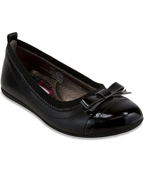 French Toast Little Big Girls Ballet Flat Shoe
