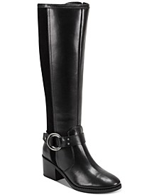 Risa Block-Heel Leather Boots