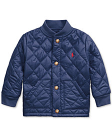 Polo Ralph Lauren Baby Boys Matte Microfiber Military Jacket