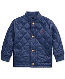Polo Ralph Lauren Baby Boys Matte Microfiber Military Jacket