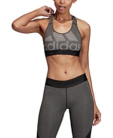 AlphaSkin Compression Medium-Impact Sports Bra