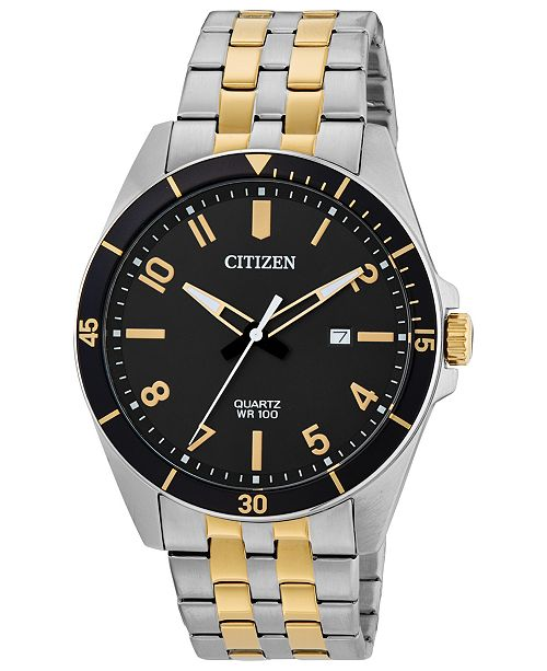 Citizen Men's Quartz Two-Tone Stainless Steel Bracelet Watch 42mm
