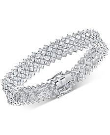 Diamond Statement Bracelet (8 ct. t.w.) in 14k White Gold