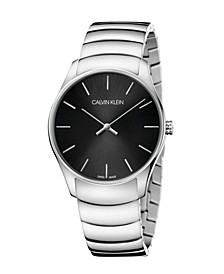 Unisex Classic Too Stainless Steel Bracelet Watch 38mm