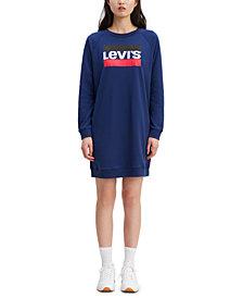 Levi's® Crew Sweatshirt Dress