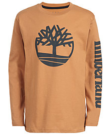 Timberland Little Boys Epsom Wheat Logo T-Shirt
