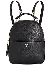 Polly Mini Leather Convertible Backpack