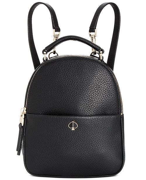 beautiful and charming best hot-selling professional Polly Mini Leather Convertible Backpack