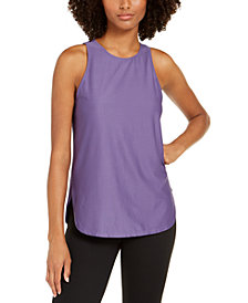 Ideology Mesh Tank Top, Created for Macy's