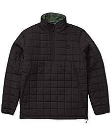 Men's Quilted Anorak Jacket