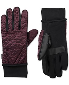 Women's SleekHeat® Quilted Gloves with smarTouch® Technology