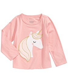 Toddler Girls Unicorn Cotton T-Shirt, Created For Macy's