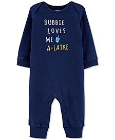 Baby Boys Cotton Bubbie Love Me Coverall
