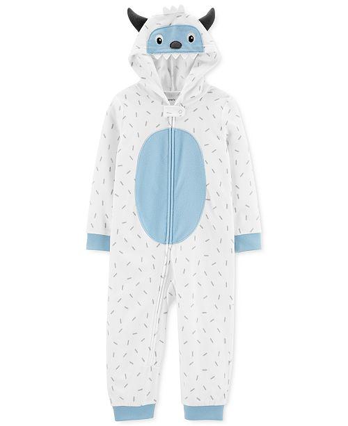 Carter's Toddler Boys 1-Pc. Fleece Abominable Snowman Pajama