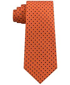 Men's Pin Dot Silk Tie