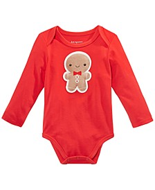 Baby Boys Gingerbread Bodysuit, Created For Macy's