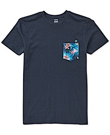 Toddler & Little Boys Cotton Printed Pocket T-Shirt