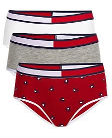 Tommy Hilfiger Little & Big Girls 3-Pk. Hipster Underwear
