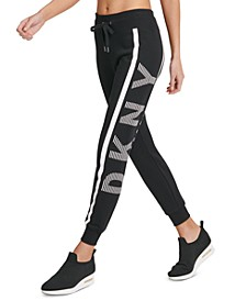 Sport Logo Striped Lightweight Joggers