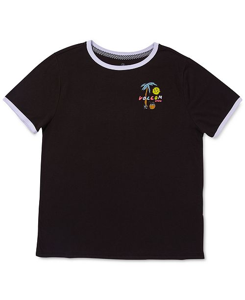 Volcom Big Girls Logo-Print T-Shirt