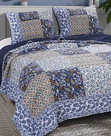 Pandora Quilt Set, 3-Piece Full/Queen