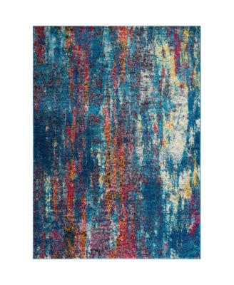 CLOSEOUT! Global Rug Design Venus VEN10 Blue 5'3