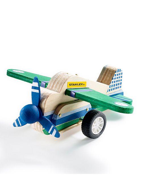 Stanley Jr. DIY Wood Airplane Pull Back Toy Kit