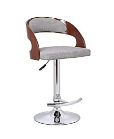 Kris Adjustable Height Swivel Bar Stool