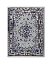 "Global Rug Design Choice CHO13 Silver 7'8"" x 10'7"" Area Rug"