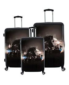 Stallion 3-Piece Hardside Luggage Set