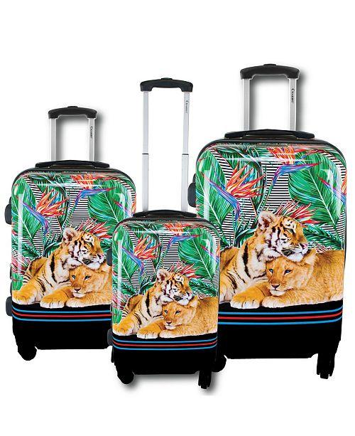 Chariot Mod Tiger 3-Piece Hardside Luggage Set