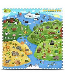 I-Mat My Animal World - 9 Pieces