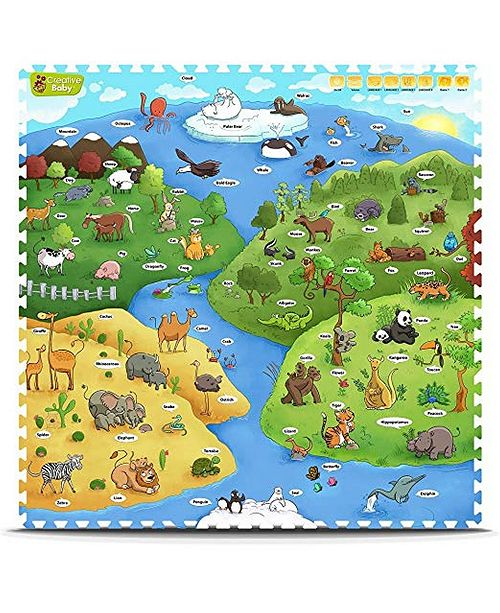 Creative Baby I-Mat My Animal World - 9 Pieces