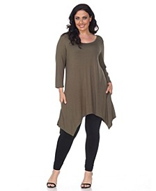 Plus Size Makayla Tunic /Top